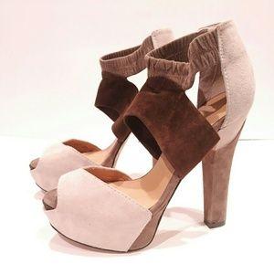 LAMB L.A.M.B. Women's heel size 7 platform